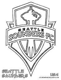 sounders soccer seattle sounders soccer coloring printable at