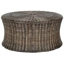 safavieh ruxton dark brown wicker coffee table free shipping