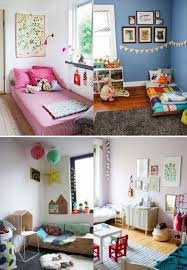 Toddler Bedroom Ideas Toddler Bedroom Design Ideas Using Montessori Decor For Baby Room