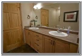 Pine Bathroom Vanity Cabinets by Knotty Pine Half Log Vanity W Linen Cabinet Log Home Vanity
