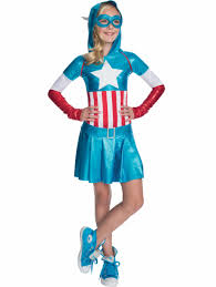 Marvel Halloween Costume American Dream Hoodie Dress