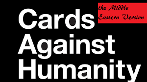 cards against humanity in stores middle eastern cards against humanity by nasser kickstarter