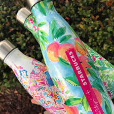 swell starbucks lilly pulitzer s well starbucks lilly pulitzer bottles lilly pulitzer