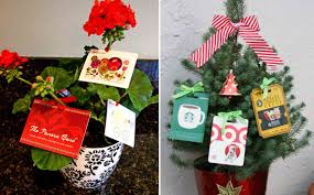 gift card tree ideas gift card tree decorate a small christmas tree by hanging gift