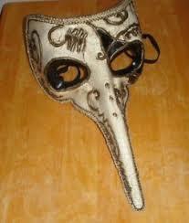 venetian bird mask nose beak bird mask venetian mardi gras costume