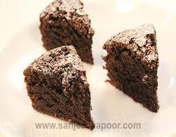 choco ragi cake non vegetarian recipe by master chef sanjeev kapoor