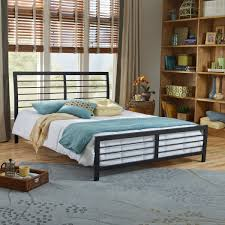 Queen Size Platform Bed Lakeside Queen Size Platform Bed Frame Hbedlake Qn
