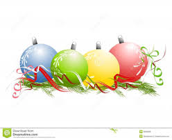 free christmas decoration clipart borders