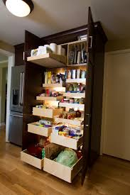 pantry cabinet pull out pantry cabinets for kitchen with