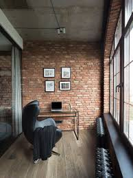 Brick Loft by High End Bachelor Pad Design Stunning Loft In Kiev By
