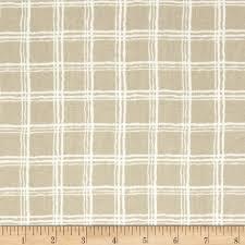 nautica silver bay plaid linen discount designer fabric fabric com