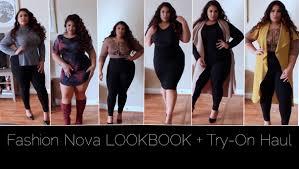 Plus Size Websites For Clothes Fashionnova Lookbook Try On Haul Plus Size Fashion Youtube