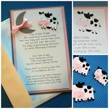 cow baby shower invitations xyz