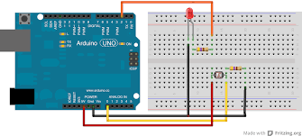 smart lighting using arduino and a photocell
