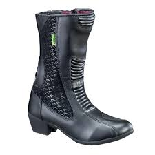 women s leather moto boots women u0027s leather moto boots w tec nf 6090 insportline