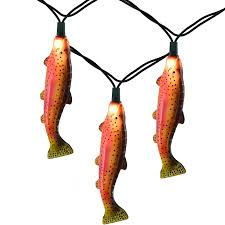 rainbow trout lights trout string lights fishing