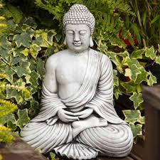 peaceful buddha statue buddha garden ornaments