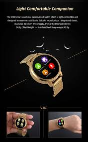 amazon com 2016 v360 smart watch for apple iphone huawei android