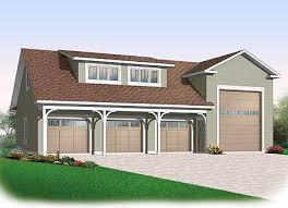 Rv Garage Apartment Plan 21926dr 4 Car Rv Garage Rv Garage Rv And Cars