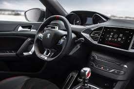 peugeot pars interior peugeot 308 gti 2015 the french go golf bashing by car magazine