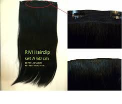 hair clip murah hairclip 100 human hair hairclip hair extension rambut asli