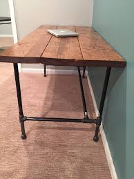 Building A Wood Desk by Diy How To Build A Desk