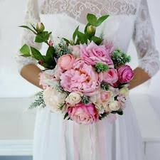 bouquet for wedding peonies wedding bouquets ebay