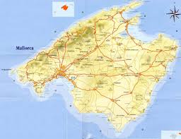 Spain On A Map Mallorca Spain Map Imsa Kolese