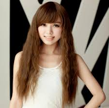 long tight curls hair style