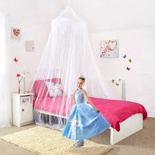 amazon com princess bed canopy beautiful silver sequined amazon com princess bed canopy beautiful silver sequined childrens bed canopy in white quick and easy to hang bedroom accessories home kitchen
