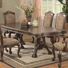 table outstanding black round pedestal dining table and chairs
