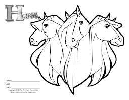 horse printable coloring pages with regard to motivate to color