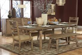 Dining Benches Rustic Kitchen Table With Bench