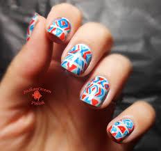 turquoise nail polish designs