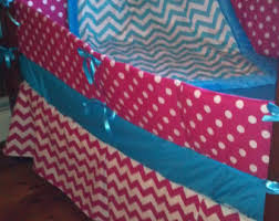 chevron crib bedding etsy