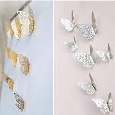 Wall Accessories Group Online Get Cheap Paper Butterfly Wall Decor Aliexpress Com