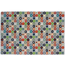Round Blue Rugs Kids U0027 Room Decor Colorful Circles Rug The Land Of Nod