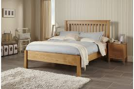 serene lincoln lfe oak bed frame from the bed station