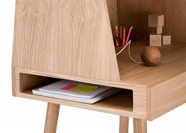 Small Wood Desk Kjær S Wooden Desk Is A Sweet Modern Design That Also