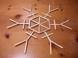 craft stick snowflakes crafty nest