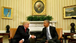 Oval Office Pics Obama Trump Have U0027excellent U0027 Oval Office Meeting The Daily Beast
