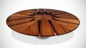 circle table that gets bigger this is kind of amazing watch the video a table that gets bigger