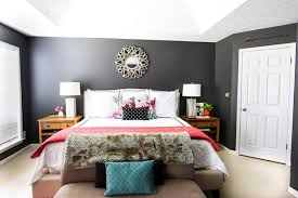 gray wall bedroom on trend dark gray wall paint colors jennifer rizzo