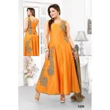color with pale golden rod color design combination anarkali dress