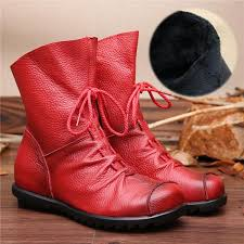 womens boots in style 2017 shoes 2017 vintage style genuine leather boots kaaum