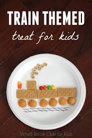 train themed treat for kids transportation snacks and activities