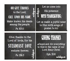 Bible Verses Of Thanksgiving Printable Thanksgiving Bible Verse Cards Rachelwojo Com