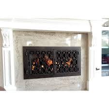 wave rectangular fireplace door 20 ams fireplace inc