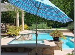 Design For Striped Patio Umbrella Ideas Blue Patio Umbrella Objectifsolidarite2017 Org