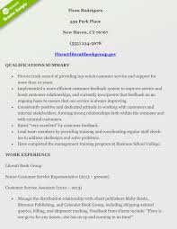 Qualifications Summary Resume Example by How To Craft A Perfect Customer Service Resume Using Examples